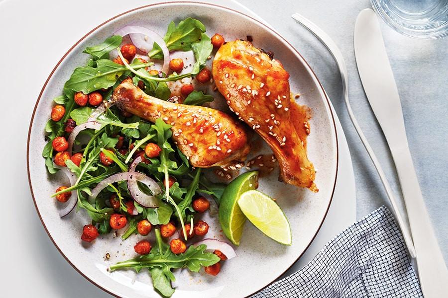 salatalı tavuk, salatalı but, kilo almak için yiyecekler