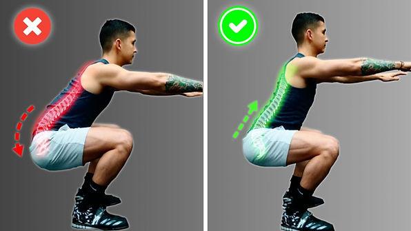 squat yaparken yapılan hatalar, squat yaparken yapılan yanlışlar butt wink, but wink nedir