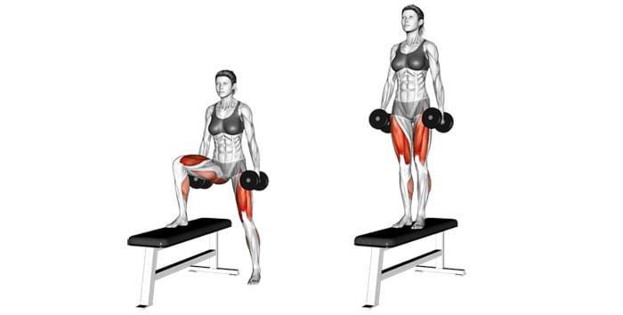 Lateral Steps Up, Lateral Steps Up nasıl yapılır, diz baskın egzersizler