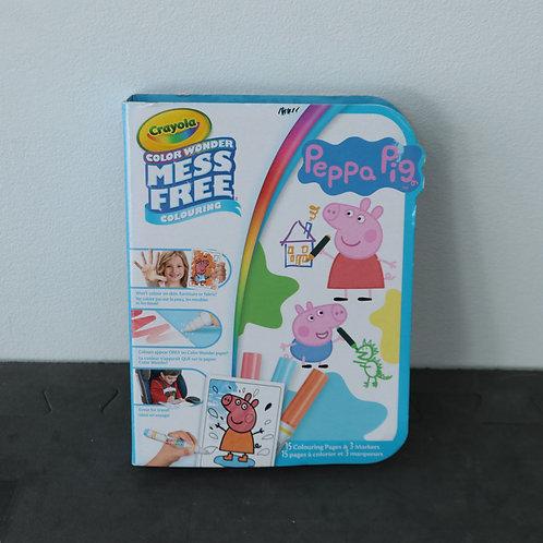 Cahier de coloriage Peppa Pig