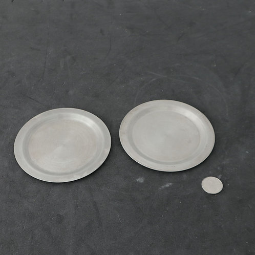 2 sous-verres en métal