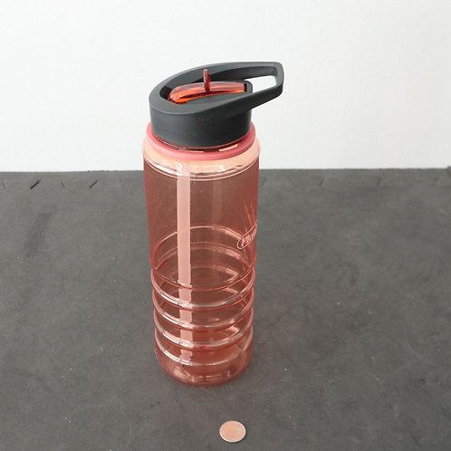 Bouteille d'eau réutilisable en plastique