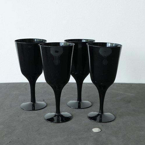 4 coupes noires