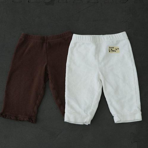 2 Pantalons (6-9 mois)