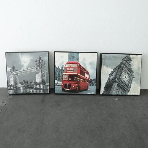 3 tableaux Londres