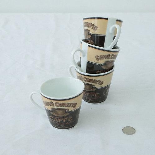 4 petites tasses