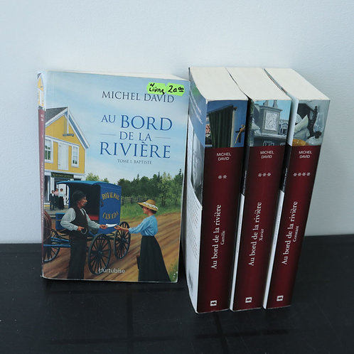 Au bord de la rivière (4 livres) - Michel David