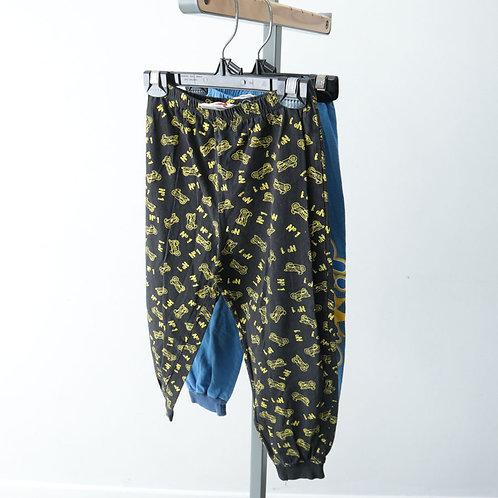 2 pantalons pyjamas (3-4 ans)