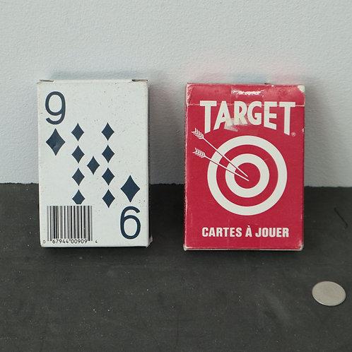 2 jeux de cartes