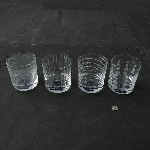 4 verres neufs Mikasa