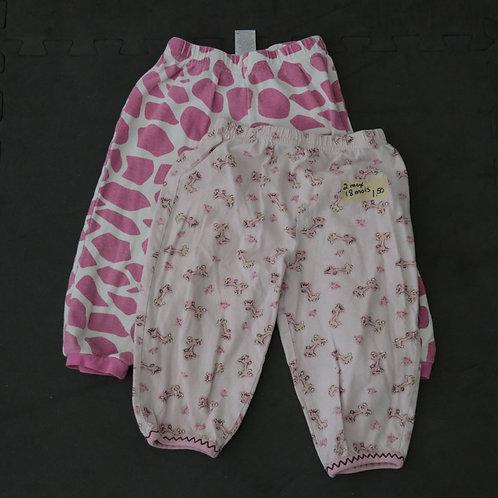 2 Pantalons (18 mois)