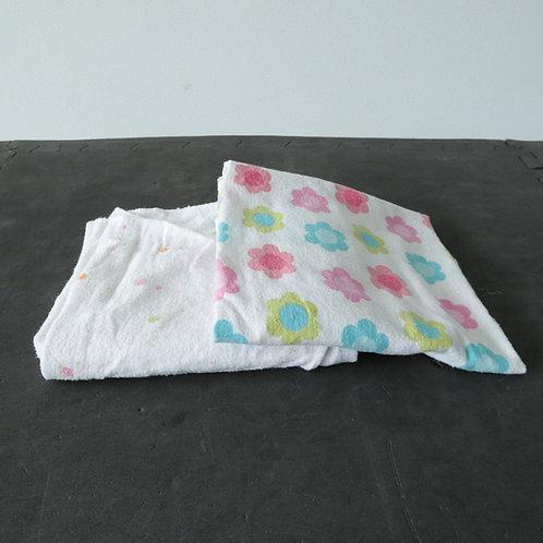 2 couvertures pour bébé