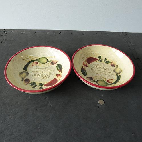 2 assiettes creuses