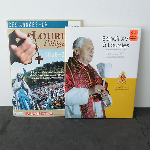 Benoit XV1 à Lourdes