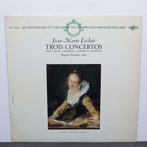 Trois concertos / Jean Marie Leclair