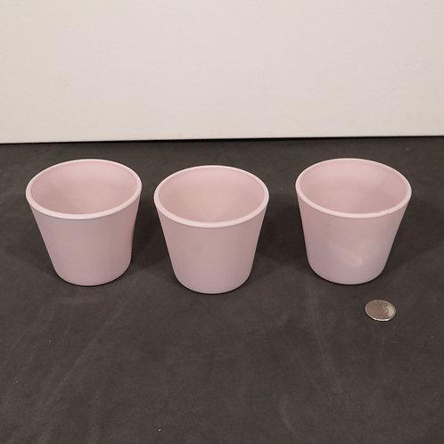 3 pots à fleurs