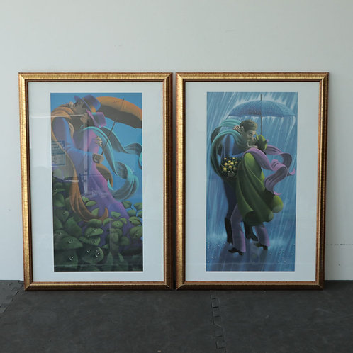 2 Reproductions Théberge