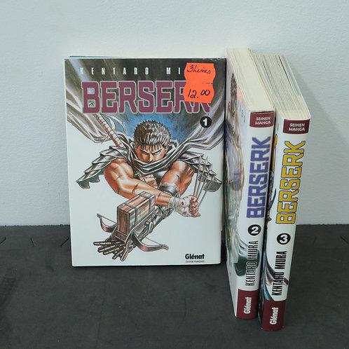 Berserk (3 volumes)