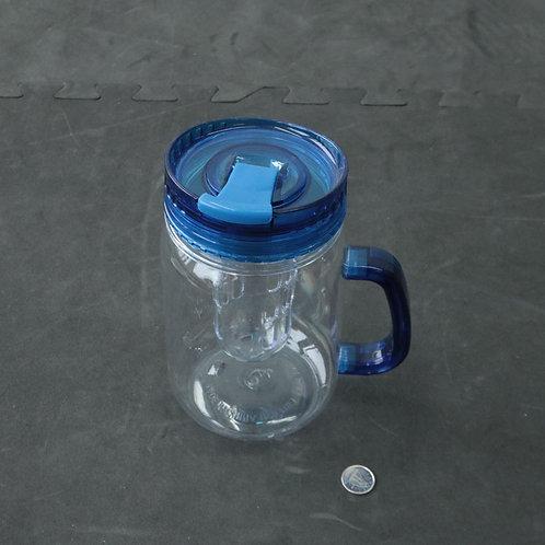 Bock pour infusion en plastique