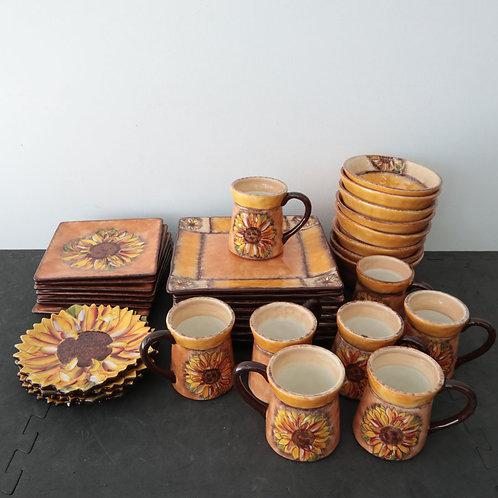 Set de vaisselle Clay Art