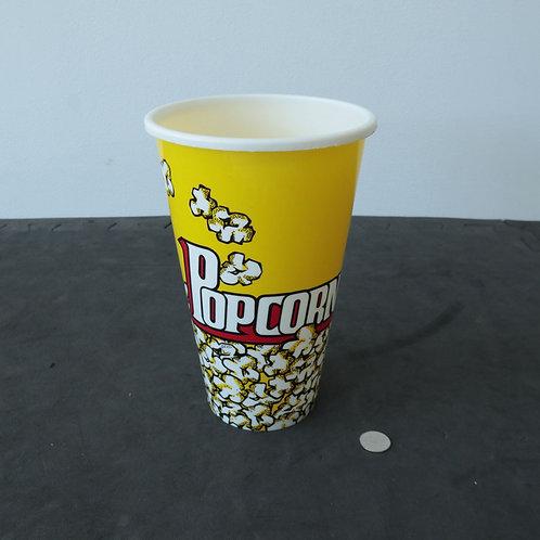 Verre/plat pour popcorn