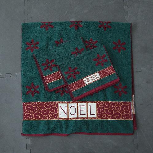 3 serviettes de Noël