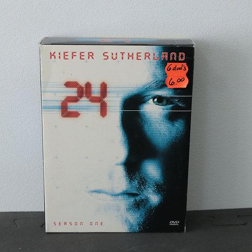 24 (6 DVD'S) - Kiefer Sutherland