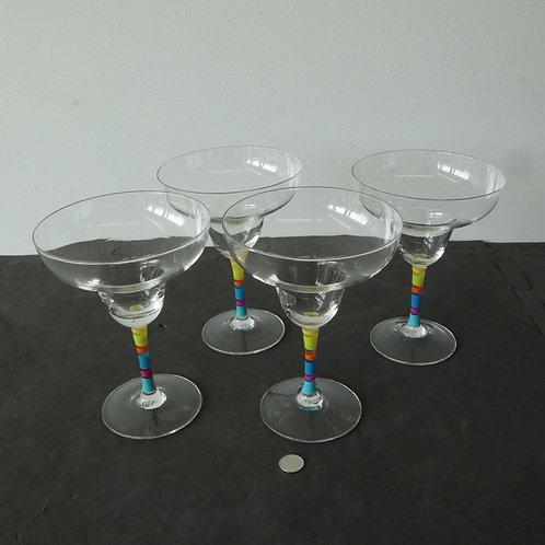 4 coupes ou cocktails