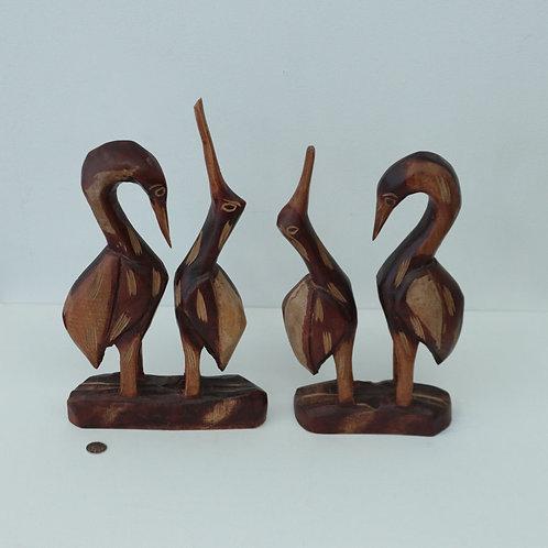2 sculptures artisanales