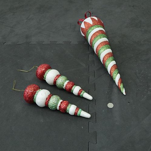 3 Décorations de Noël