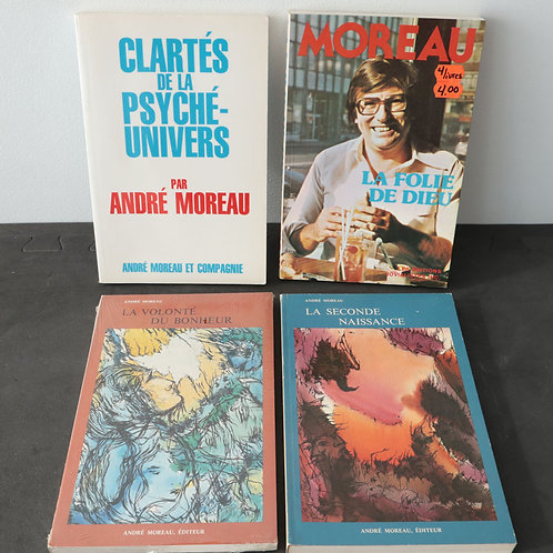 André Moreau (4 livres)