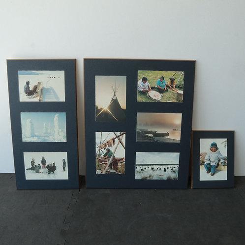 3 laminés photos Inuits