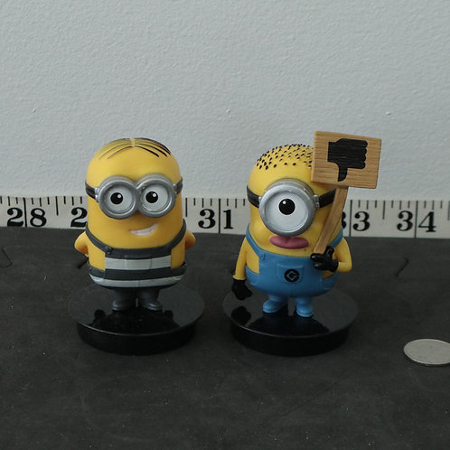 2 personnages Minions