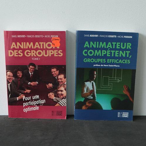 2 Livres Animation des groupes