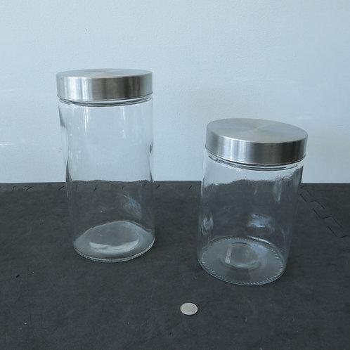 2 Pots en vitre