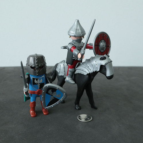 2 personnages Playmobil
