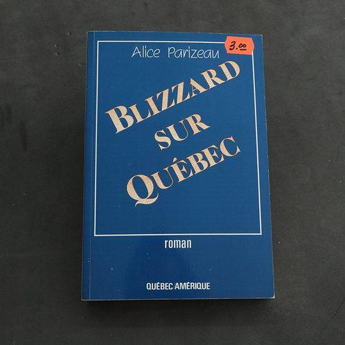 Blizzard sur Québec - Alice Parizeau