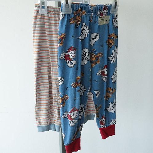 2 Pantalons de pyjama  (2 ans)