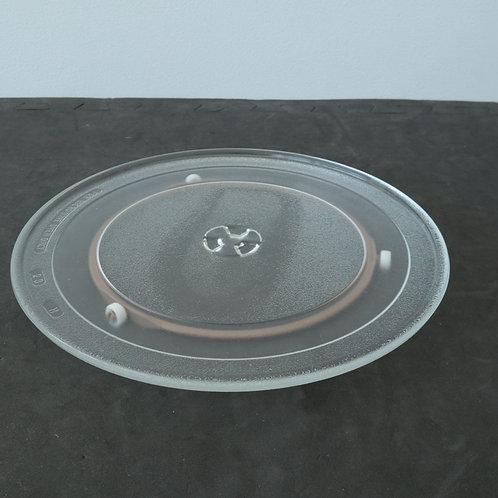 Assiette pour micro-ondes avec socle