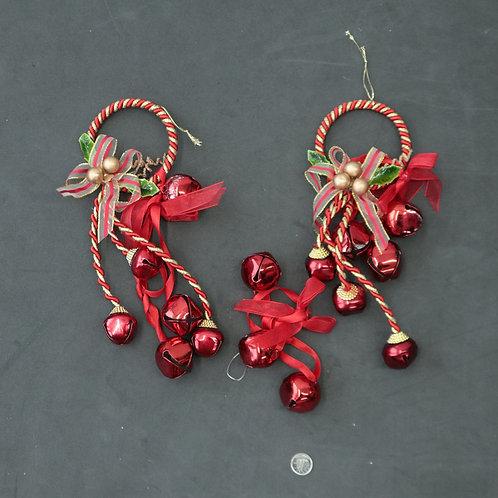 2 Décorations et grelots de Noël