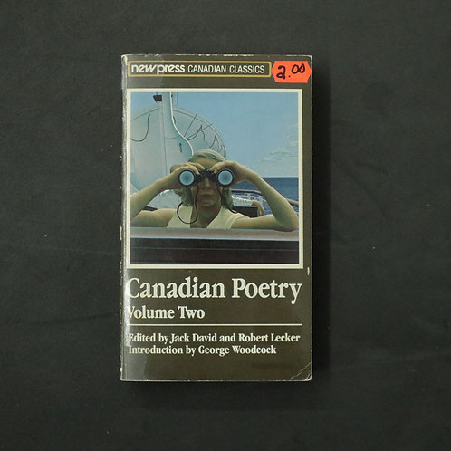 Canadian Poetry - Volume Two (anglais)