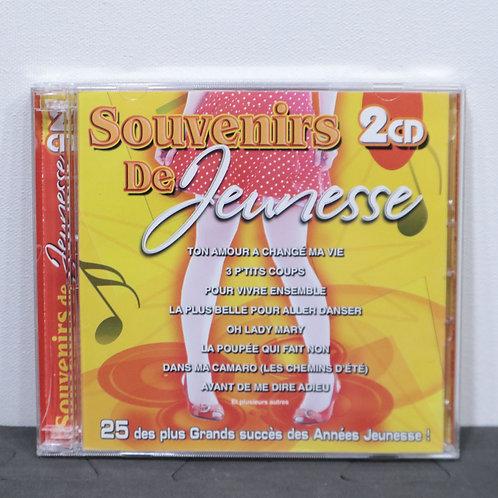 Souvenirs de jeunesse 2 CD.