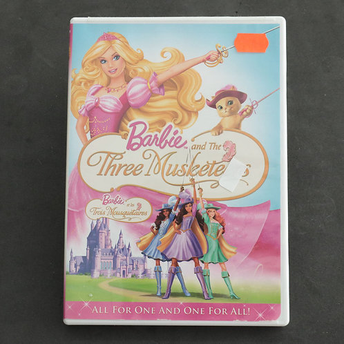Barbie and the three Muskete