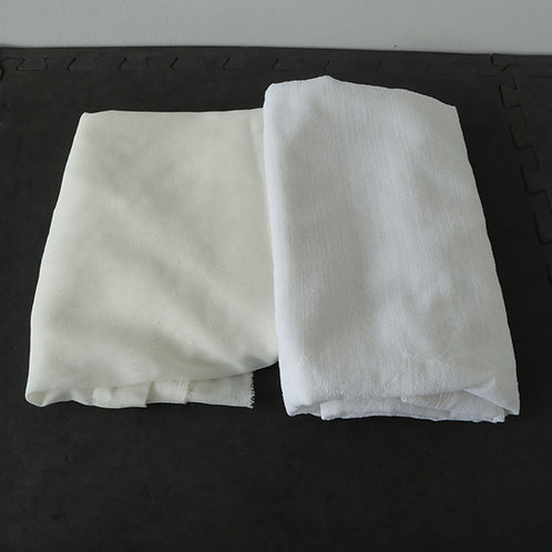 2 pièces de tissus pour rideaux ou autres