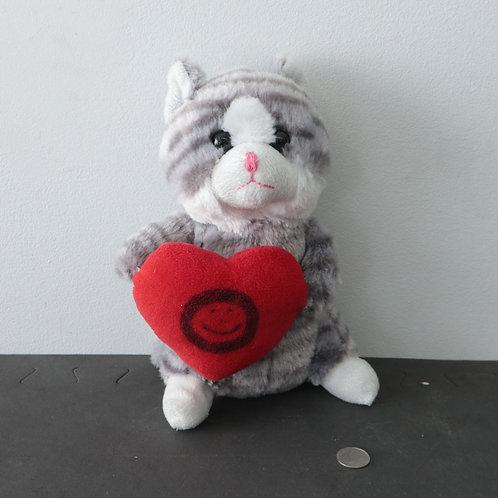 Toutou chat avec coeur