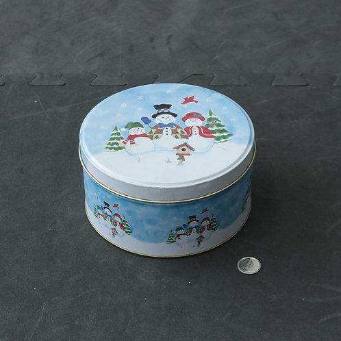 Boîte de métal de Noël
