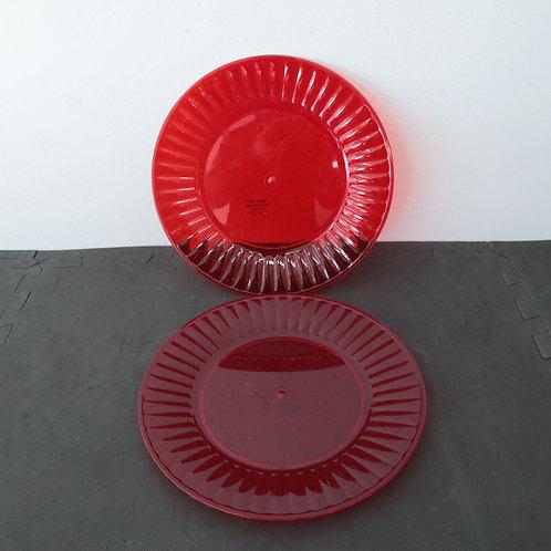 Assiettes en plastique (2)