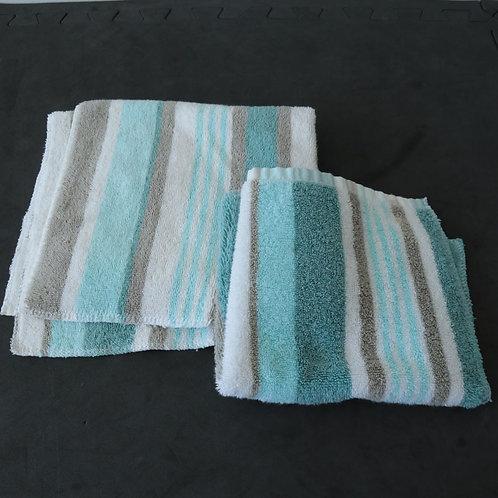 2 serviettes à mains