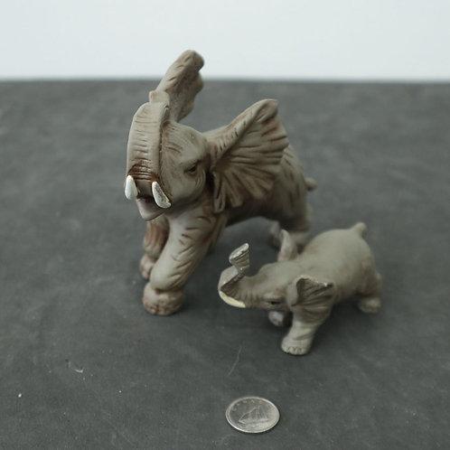 2 bibelots éléphants