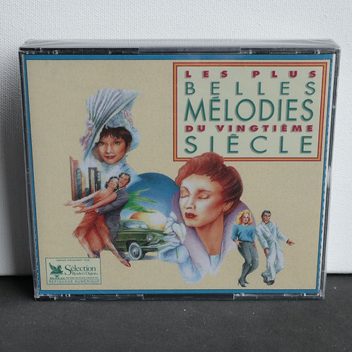 Belles Mélodies du Vingtième Siècle (cd's double 2X)